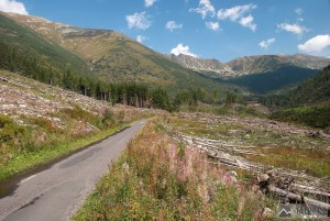 cesta Žiarskou dolinou na chatu