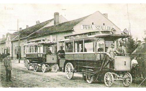 Omnibus v Popradu (Hotel Tatra)