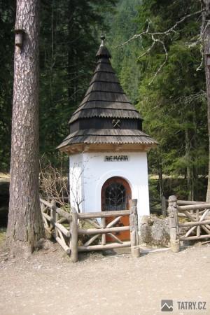 Zbojnicka kaplica - ve skutečnosti kaplička postavená havíři