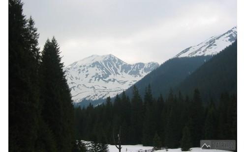 zimní pohled na Blyšť a Bystrou