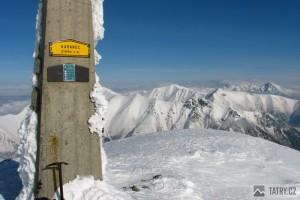 Pohled z vrcholu Barance na východ
