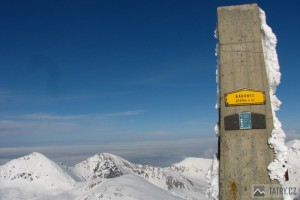 Z vrcholu Barance na Plačlivé a Volovec