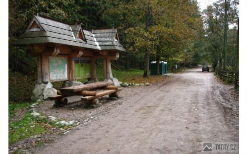 WC v dolině Kościeliské