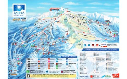 Skiareál Jasná-Chopok