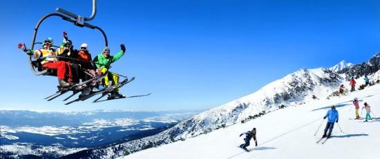 lyžování Štrbské Pleso