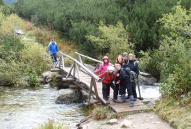 Mostek přes Hincův potok
