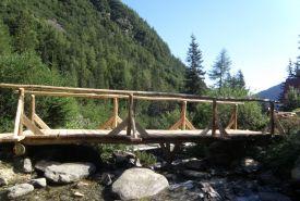 Most přes Smrečianku