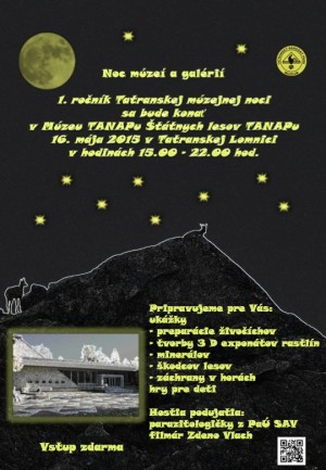 1. Tatranská muzejní noc