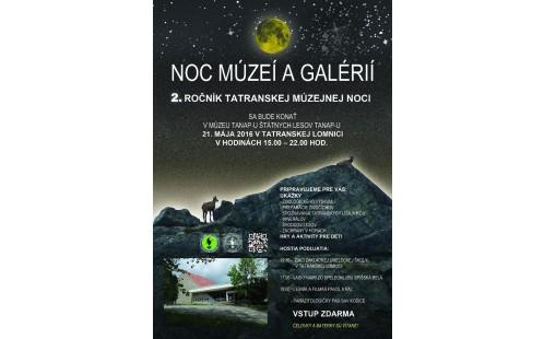 Muzejní noc v Tatrách