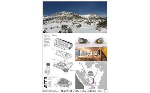 Vítězný návrh na novou Kežmarskou chatu