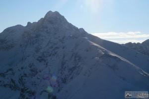 Svinica (2301 m) od Kasprowa Wierchu