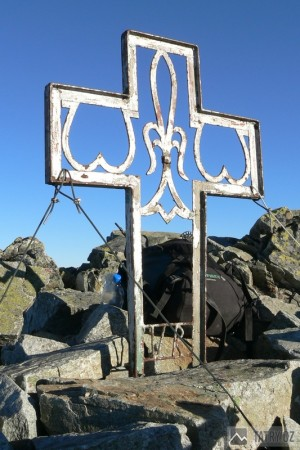Vrcholový kříž na Vysoké