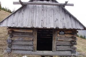 Polana Stoły - detail památkově chráněné salaše