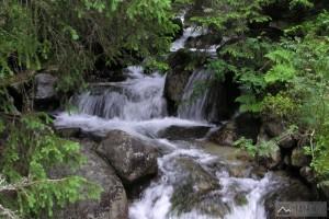 Potok u Jamského plesa