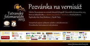 Pozvánka na vernisáž - TF2013