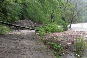 Červeno značený turistický chodník v Prielome Dunajca v PIENAPe je do odvolania nepriechodný