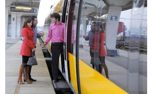 Servis ve žlutých vlacích RegioJet