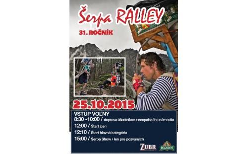 31. ročník Sherpa rallye
