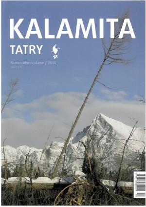 Časopis Tatry - mimořádné číslo Kalamita (rok 2014)