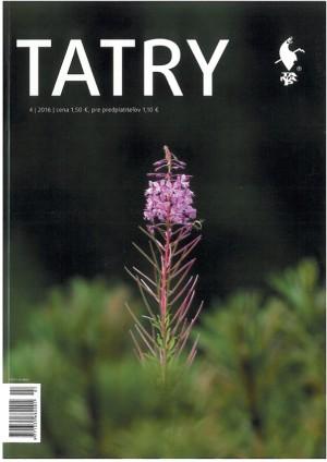 4. číslo časopisu Tatry