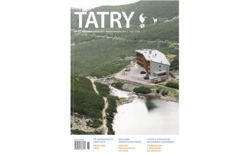 Deváté číslo časopisu TATRY ve dvou jazycích