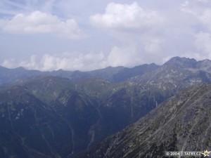 výhled z Kriváně