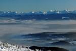 Tatry z Babiej hory