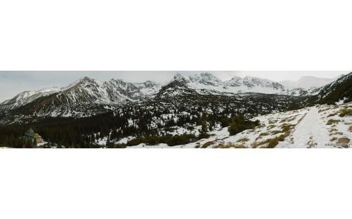 panorama Doliny Gąsienicowe