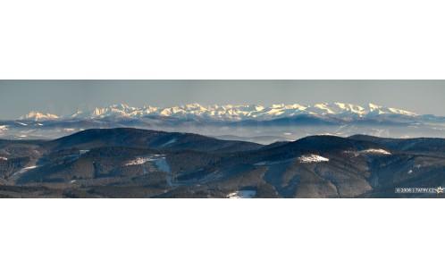 Tatry z Lysé hory
