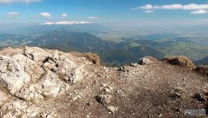 výhled na Tatry