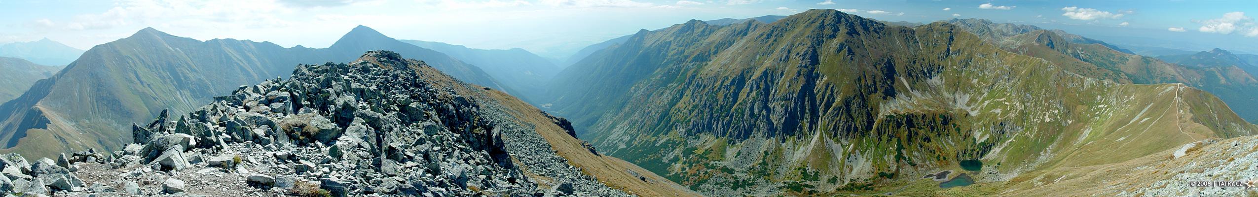panorama z Klinu
